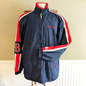VTG Starter Red Sox Windbreaker Jacket Boston